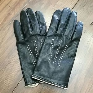 Banana Republic Size Small Leather Gloves